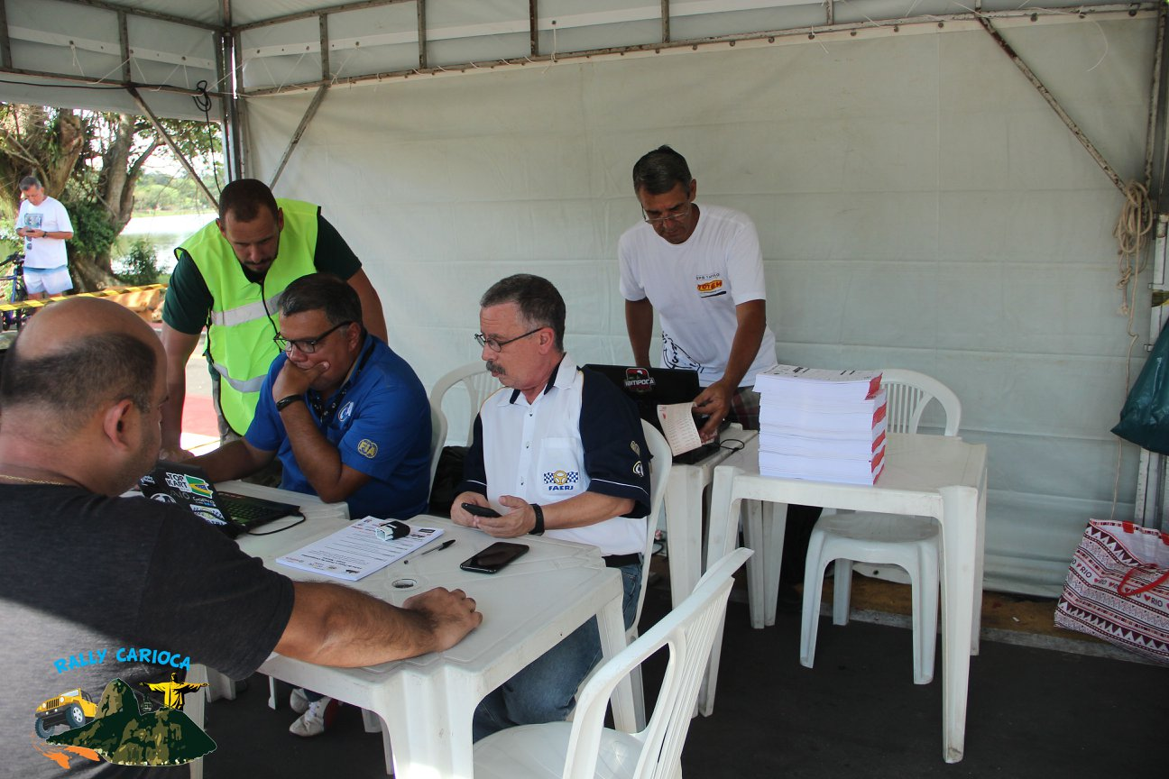 Todo o conforto disponibilizado aos competidores foi igualmente compartilhado com a equipe da organização, comissários e cronometragem