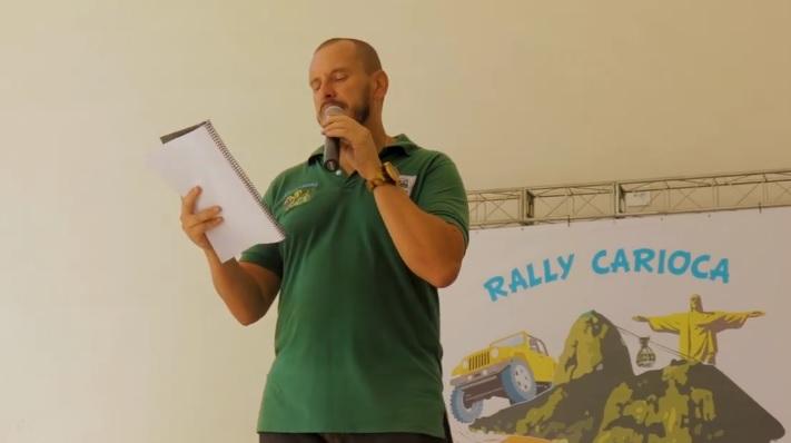 Eduardo da Hora a frente da Trovão Verde em seu 3º ano consecutivo organizando o Campeonato Carioca de Regularidade.