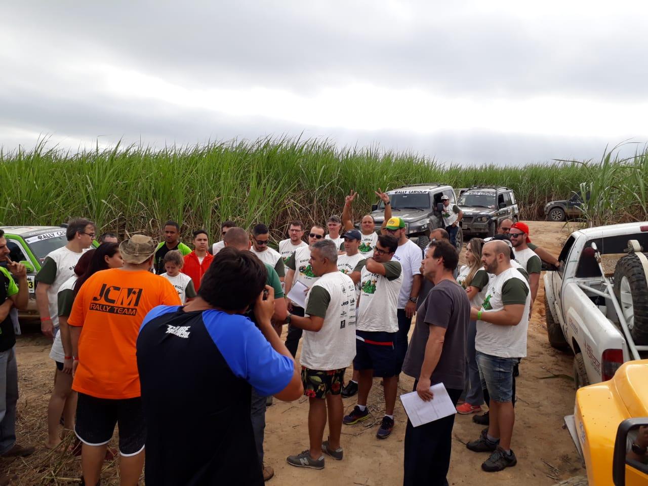 O improvável ocorre: Praticamente uma conferencia foi realizada no meio da prova, interrompendo a mesma. Apenas 100 metros sacramentavam o destino da 2º etapa do Carioca 2019.
